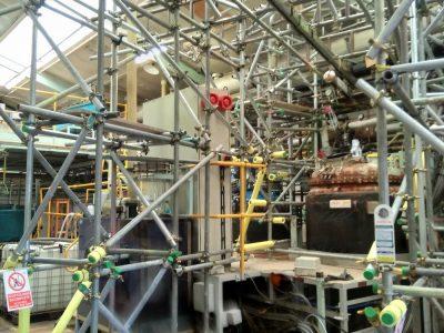 Royston Scaffolding Confined