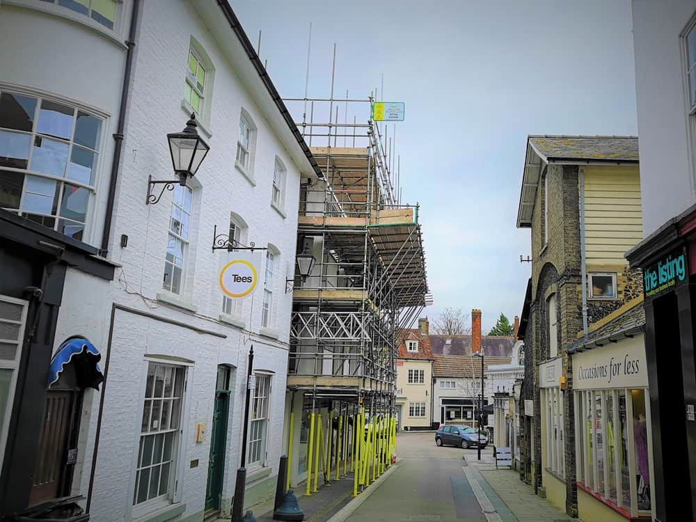 Royston Scaffolding Project