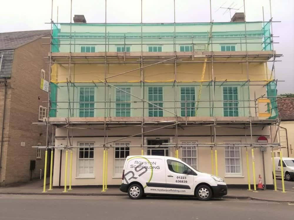 Royston Scaffolding Projects