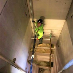 Royston Scaffolding Complete Confined Space Scaffolding Project In Lift Shaft