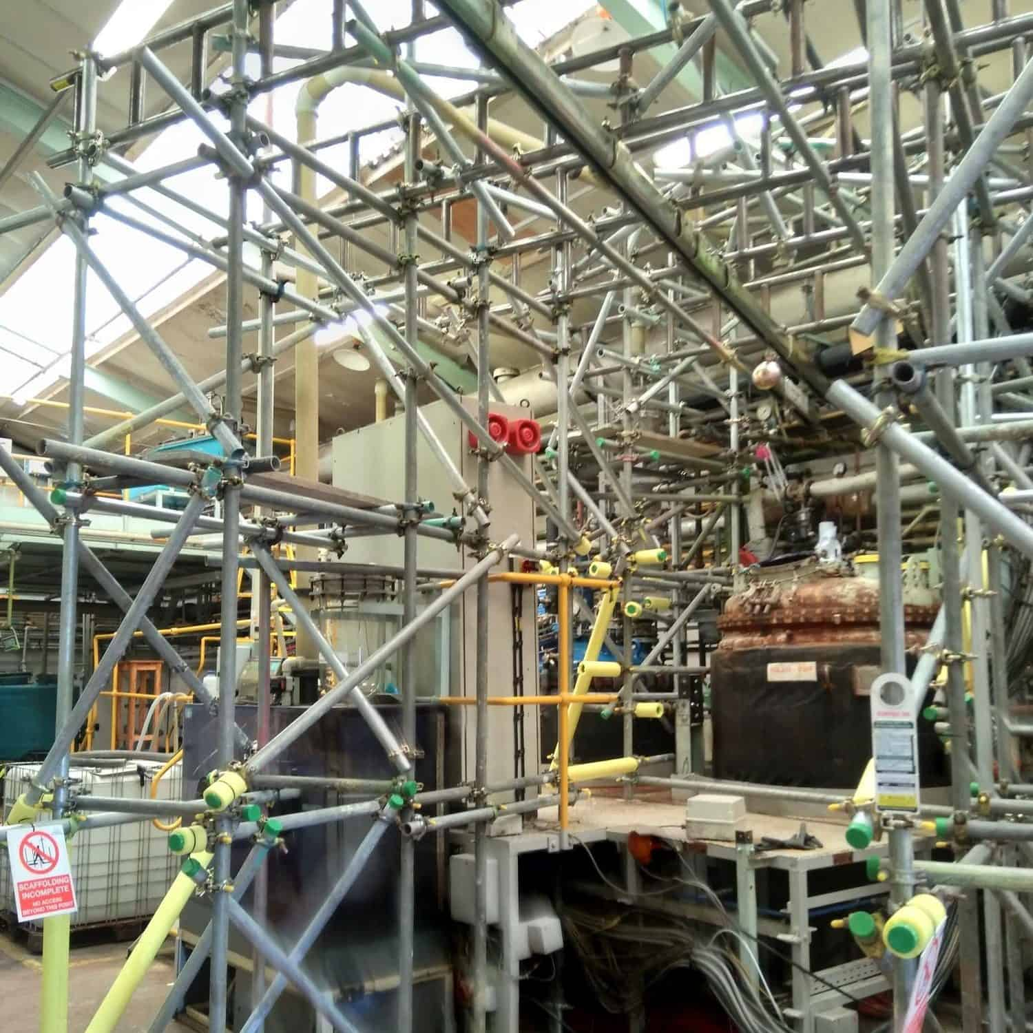 How Royston Scaffolding Designed, Constructed And Dismantled Industrial Scaffolding In One Week