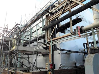 How Royston Scaffolding Completed An Industrial Scaffolding Project On Time Despite Complications